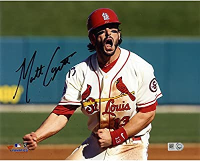 "Matt Carpenter St. Louis Cardinals Autographed 8"" x 10"" Yelling Photograph - Fanatics Authentic Certified"