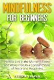 Yesenia Chavan Mindfulness for Beginners: How to Live in the Moment, Stress and Worry Free in a Constant State of Peace and Happiness
