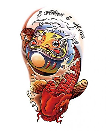 Tatouage spestyle poisson for Faux poisson rouge