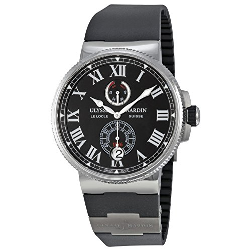 ulysse-nardin-marine-chronometer-automatic-black-dial-stainless-steel-titanium-mens-watch-1183-122-3