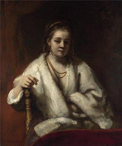 oil-painting-rembrandt-harmenszoon-van-rijn-portrait-of-hendrickje-stofells1659-20-x-24-inch-51-x-61