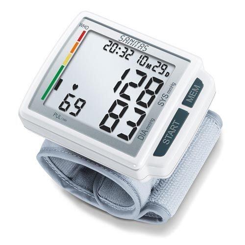 Sanitas - SBC 41 - Tensiomètre Électronique au Poignet - Écran Large