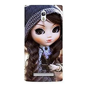 Enticing Cute Beautiful Doll Back Case Cover for Oppo Find 7