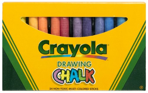 Binney & Smith Crayola(R) Drawing Chalk, Assorted