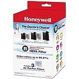 Honeywell Filter R True HEPA Replacement Filter - 3 Pack, HRF-R3