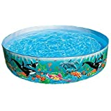 Intex 58461 Rigid Ocean Pool, Multi Color