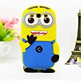 Go Crazzy Despicable Me Minion Back Case For Samsung Galaxy Grand Duos 9082 (Yellow & Blue)