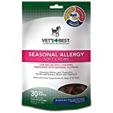 Vet's Best 30 Count Seasonal Allergy Soft Chews Supplement for Dogs
