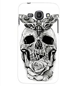ColourCraft Skull Design Back Case Cover for SAMSUNG GALAXY ACE 3 S7272 DUOS