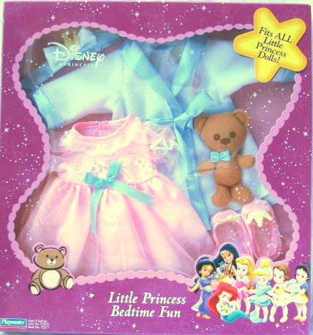 Disney Princess Little Princess Bedtime Fun Outfit - Fits ALL Little Princess Dolls - 1