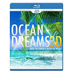 OCEAN DREAMS 3D - Enjoy the powerful beauty of the sea (Blu-ray 3D & 2D Version) REGION FREE