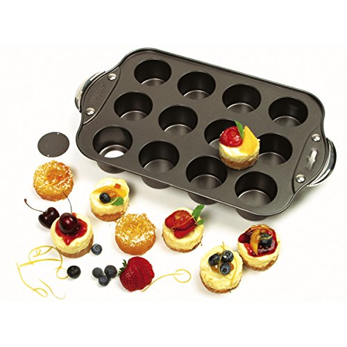 Norpro Nonstick Mini Cheesecake Pan with Handles, 12 count (Norpro Muffin Pan compare prices)