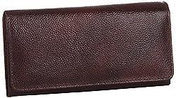 Alessia74 Women's Wallet (Dark Brown) (14488)