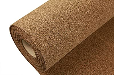 IncStores AcoustiCORK R12 Underlayment - Rubber/Cork Subfloor Ideal for Ceramic, Hardwoods, LVT, Bamboo, Laminate & Cork Flooring