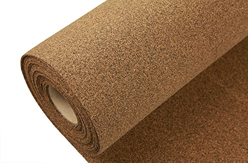 IncStores AcoustiCORK R12 Underlayment - Rubber/Cork Subfloor Ideal for Ceramic, Hardwoods, LVT, Bamboo, Laminate & Cork Flooring (Natural Cork Flooring compare prices)