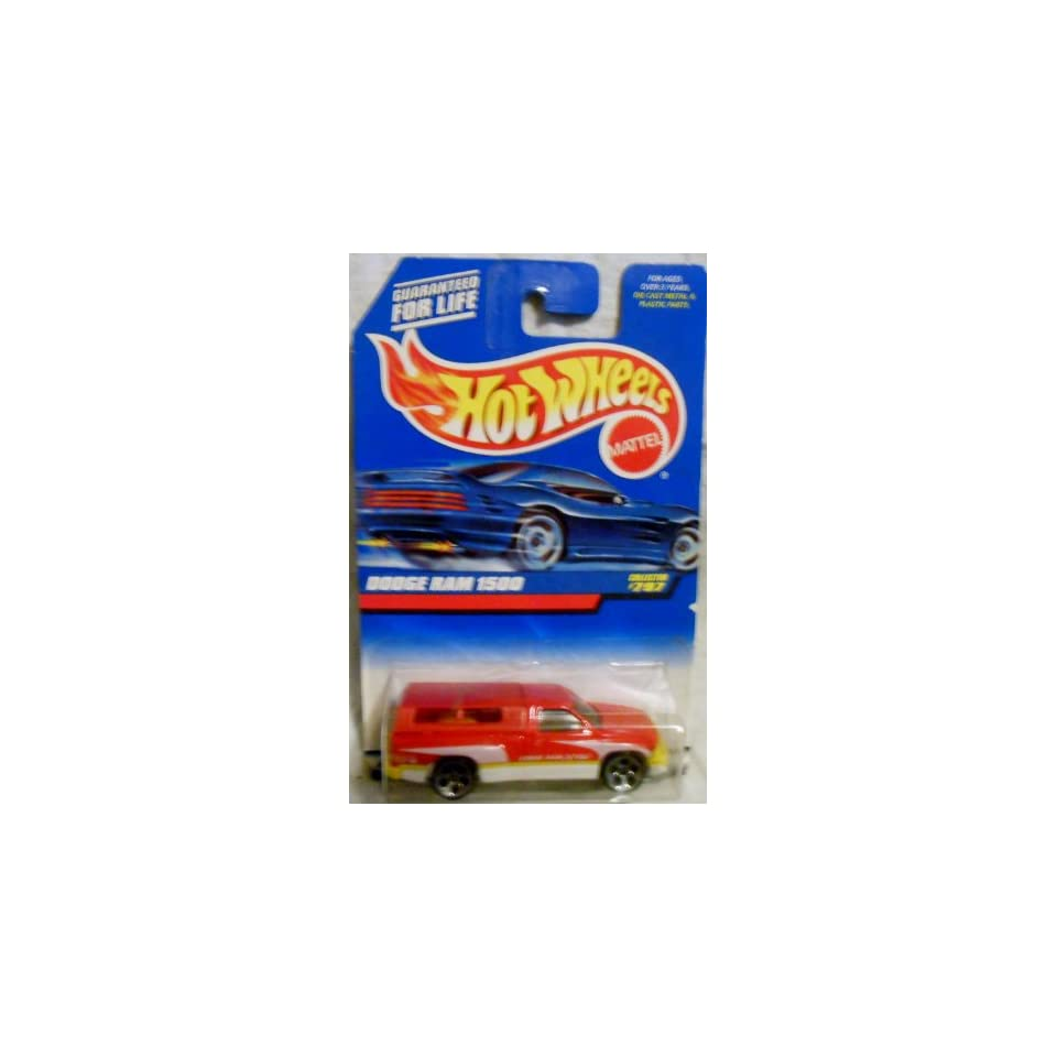 Mattel Hot Wheels 1998 164 Scale Red Dodge Ram 1500 Die Cast Truck Collector #797