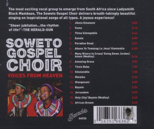 Soweto Gospel Choir Voices From Heaven Soweto Gospel Choir Voices