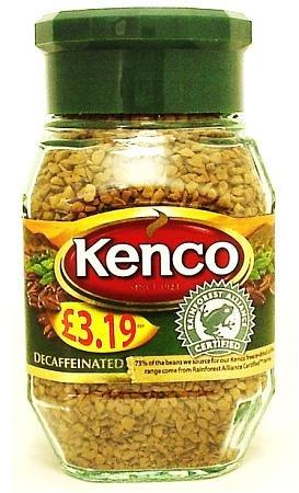 Kenco Decaff Coffee Blend 100g Matti Hårder