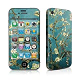 Van Gogh - Blossoming Almond Tree Design Protective Decal Skin Sticker (High Gloss Coating) for Apple iPhone 4 / 4S 16GB 32GB 64GB