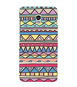 iFasho Animated Pattern colrful tribal design Back Case Cover for Lenovo Vibe P1