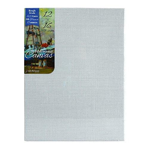 richeson-pro-canvas-oil-rough-linen-12x16