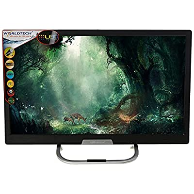 WORLDTECH WT-2288 22 inches Full HD Super Slim LED TV (Black)