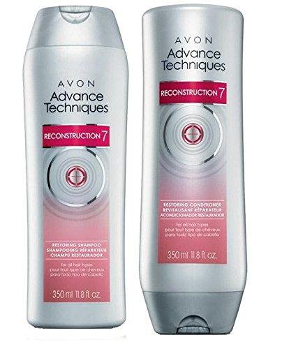 Advance Techniques Reconstruction 7 Restoring Shampoo & Conditioner Set (Avon Shampoo And Conditioner compare prices)