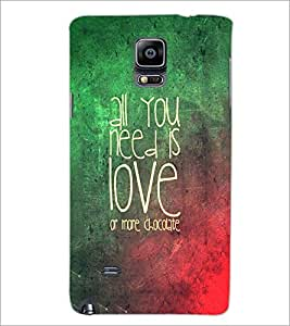 PrintDhaba Quote D-3472 Back Case Cover for SAMSUNG GALAXY NOTE 2 (Multi-Coloured)