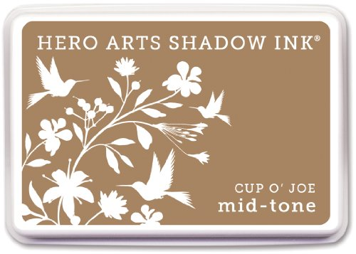 Hero Arts Rubber Stamps Shadow Ink Mid-Tone, Cup O' Joe (Cup O Joe compare prices)