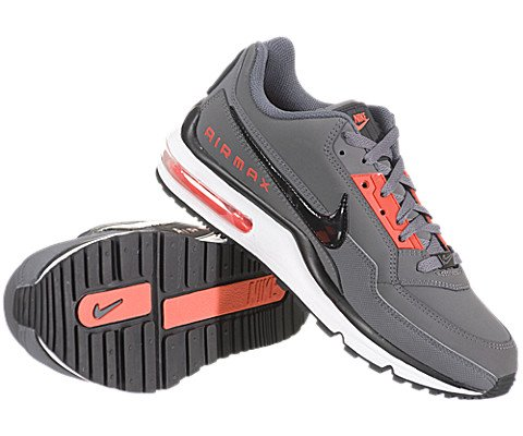 NIKE AIR MAX LTD MENS 407979-080 (8.5, DARK GREY/BLACK-MAX ORANGE)