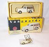 Corgi vanguards morris minor cream traveller car 1.43 scale diecast model