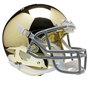 NCAA Notre Dame Fighting Irish Replica XP Helmet - Alternate 2 (Chrome) by Schutt