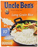 Uncle Ben's Long Grain Rice 1 kg (Pack of 12)