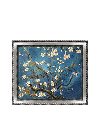 Vincent Van Gogh's Branches Of An Almond Tree In Blossom Framed Hand Painted Oil On Canvas,