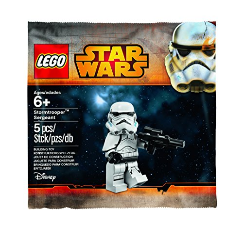 LEGO, Star Wars, Stormtrooper Sergeant Minifigure Bagged