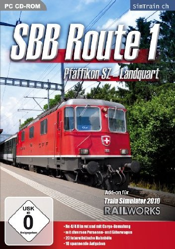 Train Simulator 2015: AddOn Railworks 3 SBB Route 1  (PC)