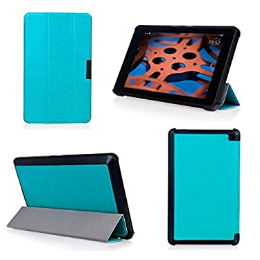 Bear Motion for Fire HD 6 Tablet - Premium Ultra Slim Case with Stand for Kindle Fire HD 6 Tablet (Oct, 2014 Release) - Blue