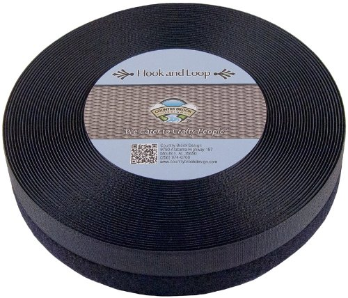 Great Features Of 1 10 yds Black Sew on Hook and Loop Velcro® Style