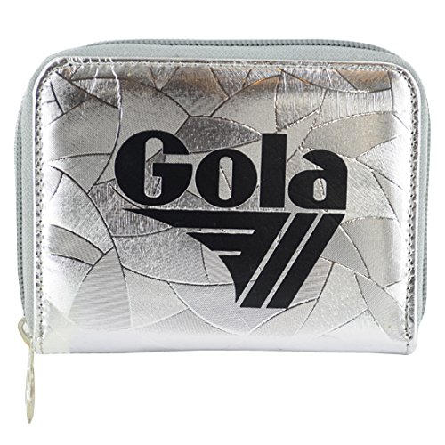 Gola accessori DAVIS METALLIC ABSTRACT silver portafoglio donna ragazza CUB958