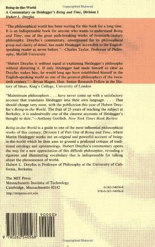 Being-In-The-World: Commentary on Heidegger's