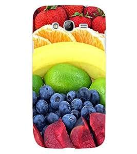 ColourCraft Fruits Design Back Case Cover for SAMSUNG GALAXY GRAND Z I9082Z