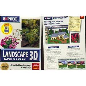 LANDSCAPE DESIGN 3D (CD ROM) BY EXPERT SOFTWARE