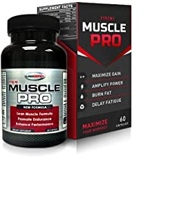 xTreme Muscle Pro - Professional Grade Stacked Muscle Building Supplement with proprietary formula of Creatine Ethyl Ester, L-Arginine, and Beta-Alenine
