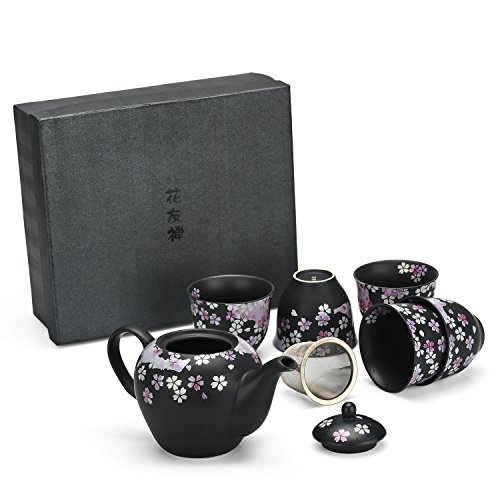 Why Choose Japanese Handcrafted Cherry Blossom 6pc Tea Gift Set