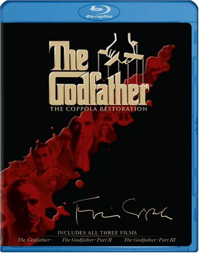 Cover art for  The Godfather Collection (The Coppola Restoration) [Blu-ray]
