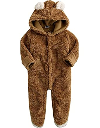 EGELEXY Warm Baby Infant Jumpsuit Body Suit