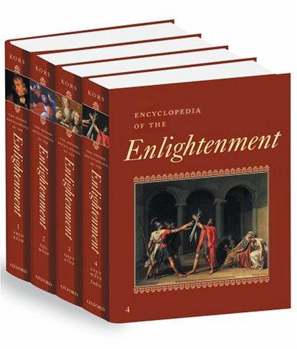 Encyclopedia of the Enlightenment (4 vol. set)
