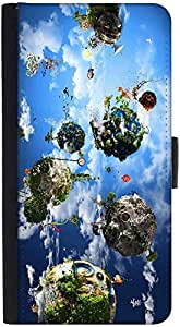 Snoogg Animated Planets Designer Protective Phone Flip Back Case Cover For Lenovo Vibe K4 Note