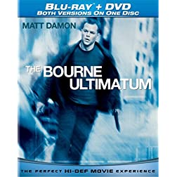 Bourne Ultimatum (Single-Disc Blu-ray/DVD Combo)