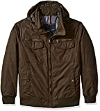Tommy Hilfiger Men's Big Polytwill 2-Pkt Performance Bomber